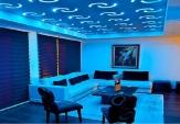 Ταβάνι με κρυφό φωτισμό από γυψοσανίδα