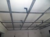 Σιδεροκατασκευή οροφής για τοποθέτηση γυψοσανίδας