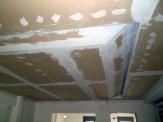 Οροφή γυψοσανίδας με λοξό κρυφό φωτισμό
